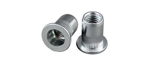 Large Flange Steel Rivet Nuts